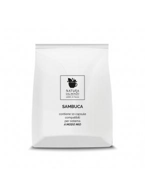 COMPATIBILI A MODO MIO CAFFE' SAMBUCA conf 10 CPS