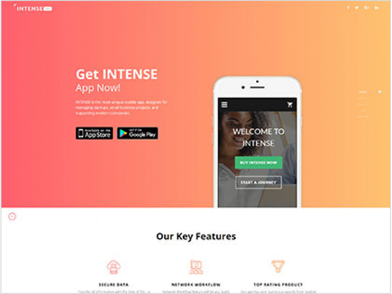 Intense app