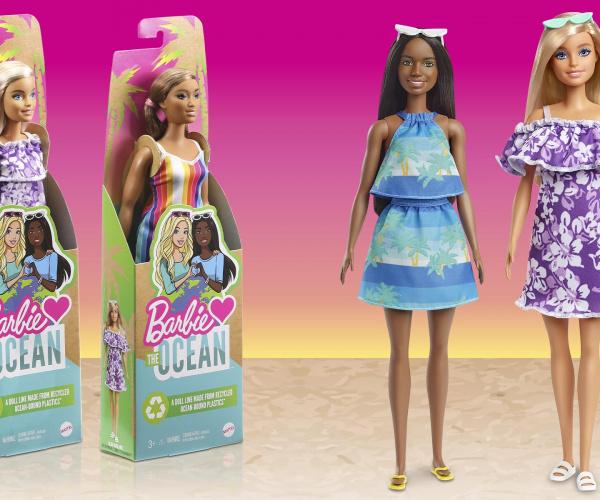La Barbie amica degli oceani è fatta con plastica riciclata