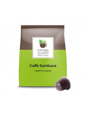 COMPATIBILI  NESPRESSO CAFFE' SAMBUCA conf. 10 CPS