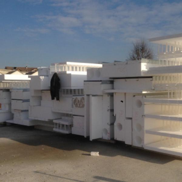 PALAZZINA PER UFFICI - Vercelli (VC) _ Consegna sistema W4 in cantiere