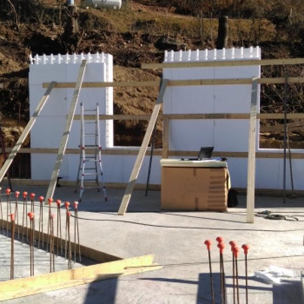LAKE HOUSE - Pettenasco (NO) _ Posa sistema W4 setto per muri perimetrali