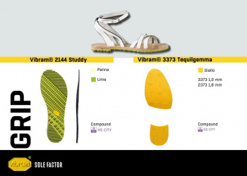 Vibram Sole Factor Grip