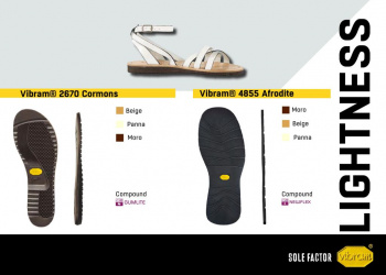 Vibram Sole Factor Lightness