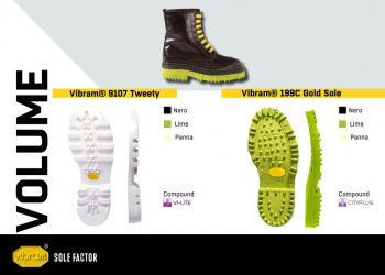 Vibram Sole Factor Volume
