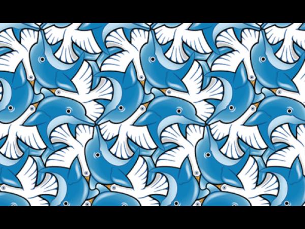 Tassellation, le incredibili grafiche a incastro che ricordano Escher