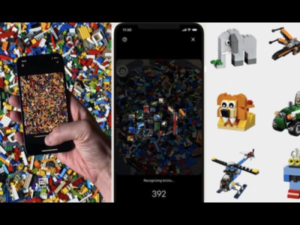 L'app che ti suggerisce che cosa costruire con i mattoncini Lego a disposizione