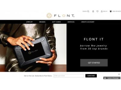 Flont, la startup che ti presta i gioielli